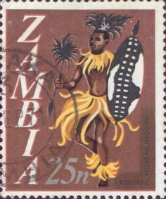 Zambia  -  Angoni warrior dance