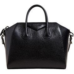 Givenchy Women's Calf Leather Medium Antigona Bag found on Polyvore