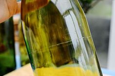 How to recycle wine bottles into handmade candles