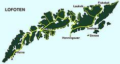 Henningsvar map