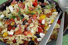 Ungarischer Nudelsalat, ein sehr schönes Rezept aus der Kategorie Reis/Nudeln/Getreide. Bewertungen: 115. Durchschnitt: Ø 4,5.