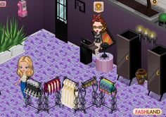 You can mix fun colours with sophisticated decorative items and have a unique outcome! Join Fashland and design your own boutique! #fashland #fashion #facebook #makeup #dressup #competition #social #dresstoimpress #moda #event #fashcup #fashioninspiration #style #game #gaming #purple #royal #interiordesign #design