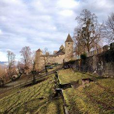 Rapperswil castle // Schloss Rapperswil #swissspots #switzerland #rapperswil Manor Homes, Swiss Alps, Eurotrip, Zurich, Wonders Of The World, Switzerland, Castles, Places Ive Been, Travel Destinations