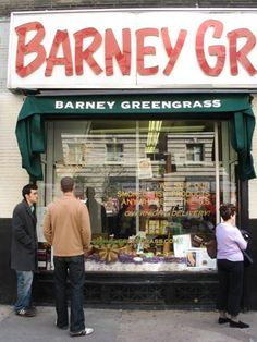 Barney Greengrass,  Amsterdam Avenue, Upper West...the best smoked sturgeon!