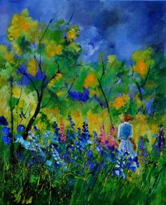 "Pol Ledent: ""Flowers in the Wood"""