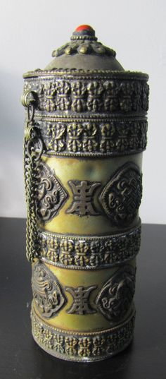 Tibet Buddhist Antique Bronze Censer Incense Burner and Holder* Arielle Gabriel writes about miracles and travel in The Goddess of Mercy & The Dept of Miracles also free China toys and paper dolls at The China Adventures of Arielle Gabriel *