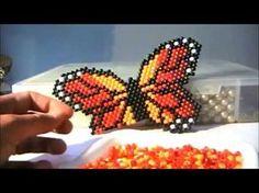 Seed Bead Patterns, Beaded Jewelry Patterns, Beading Patterns, Beaded Purses, Beaded Bags, Earring Tutorial, Beaded Animals, Beaded Brooch, Bead Jewellery