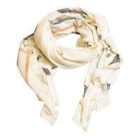 Beige sjaal met paisley print
