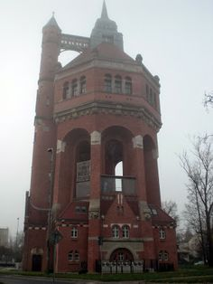 Water Tower in #Wroclaw #Breslau #Poland