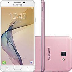 "Smartphone Samsung Galaxy J7 Prime Dual Chip Android 6.0 Tela 5.5"" Octa- Core 1.6 GHz 32GB 4G Câmera 13MP - Rosa"