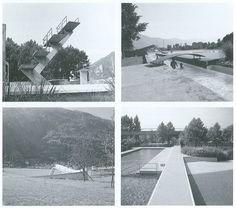îles désertes: Aurelio Galfetti, Piscine publique à Bellinzona, 1967-1970