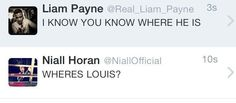 Second time pinning this but Liam's tweet has Best Song Ever lyrics in it.