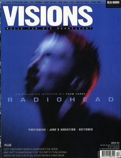 Radiohead - Magazine Covers - 1997 - VISIONS