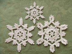 Crochet Snowflakes | Flickr - Photo Sharing!