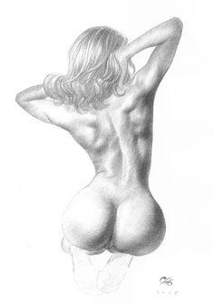 The Artistic Anatomy Blog | Figure studies by Frank Cho