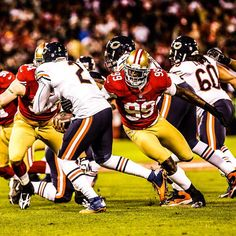 With 5.5 sacks on #MNF, @aldonsmith85 has been named NFC Defensive Player of Week 11.for the 2012 NFL Season. #49ers