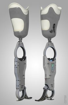 ArtStation - Prosthetic Leg designs, Joshua Cotter
