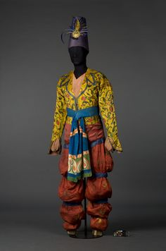 Leon Bakst, Costume for Shéhérazade,  1910