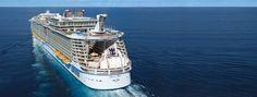 Bli med verdens største cruiseskip OASIS OF THE SEAS i middelhavet 2014     Ring oss på tlf: 73 88 41 95 for noen helt spesielle seilinger