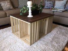 Voici 20 superbes tables basses réalisées avec des cagettes en bois! Laissez vous inspirer…