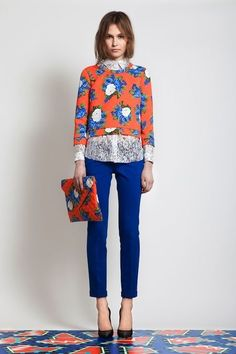 orange    blue The fashion self-informed. | Hot fashion and you