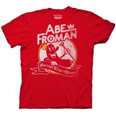 52% Off was $25.00, now is $11.99! Ferris Bueller's Day Off Abe Froman Men's T-Shirt + Free Shipping