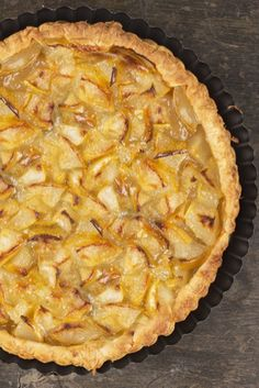 A really simple apple tart recipe...