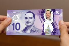 #Movember Day 10: The New Canadian 10$ Bill http://mobro.co/mickoz