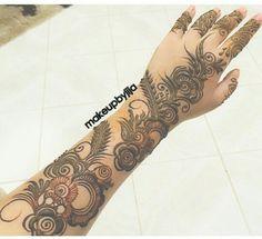 Modern Henna Designs, Floral Henna Designs, Latest Arabic Mehndi Designs, Bridal Henna Designs, Mehndi Designs For Fingers, Henna Designs Easy, Mehndi Art Designs, Beautiful Henna Designs, Beautiful Mehndi