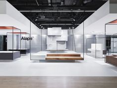 Alape Stand by Heine/Lenz/Zizka Projekte at ISH, Frankfurt – Germany » Retail Design Blog