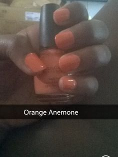 Orange Anemone by Sinful Colors