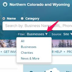 When searching the #BBB website, you can limit your search to businesses, charities, news and events, or all the information on our site! #TipTuesday