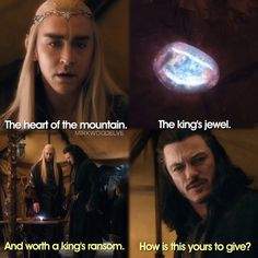 «Both of my bass in one scene now that's what I'm talking a about. Can Thranduil marry me already like for real.»