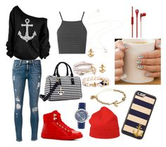 """""""Anchor"""" by nena-dutra ❤ liked on Polyvore"""