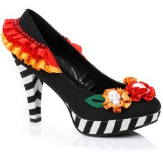 day of the dead heels for women 52 liked on polyvore featuring costumes