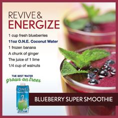 Revive & Energize Smoothie