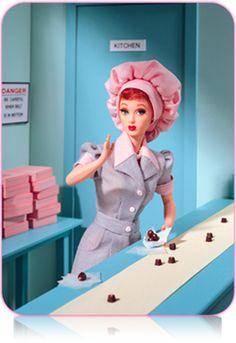 Lucille Ball barbie doll
