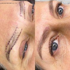 Fake Eyebrows, Microblading Eyebrows, Eyebrow Tattoo, Semi Permanent, Body Art, Zero, Eyes, Tattoos, Natural