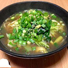 麺のびた(´・_・`) - 20件のもぐもぐ - 流水麺で醤油ラーメン by konkonmarue