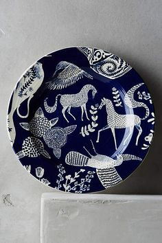 Saga Side Plate - anthropologie.com
