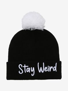 Streetwear Hats, Cool Beanies, Girl Beanie, Cowgirl Hats, Stay Weird, Crazy Outfits, Cute Hats, Back To Black, Hot Topic