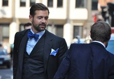 The only thing better than this man's bowtie is his beard.