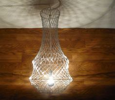instructions for making paperclip chandeliers