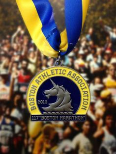 2013 Boston Marathon Medal FRONT - everyone there deserves one this year. Hearts and lives shattered. all who suffer. Race Training, Marathon Training, Boston Strong, In Boston, Boston Marathon 2013, Running Medals, Goal Board, Eyes On The Prize