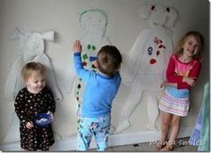Fun Christmas craft for kids: Gingerbread kids! by regina