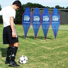 Soccer Equipment Wall Mannequins Field and Training Soccer Wall Club.
