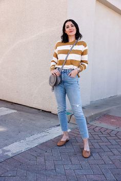Essential Striped Tee for Spring