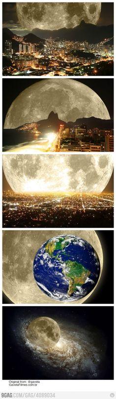Super moon is SUPER!