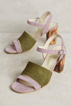 KMB Colorblock Heels