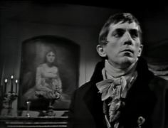 jonathan frid as 'barnabas collins' : dark shadows : ca. 1967